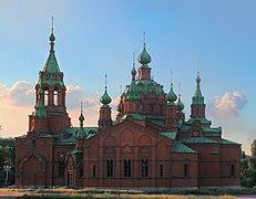 Chelyabinsk Alexander Nevsky Church (The Organ Hall) from the south