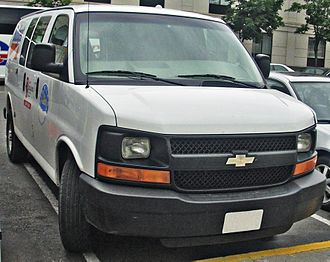 Budget Rent a Car - Chevrolet Express wagon from Budget Rent-A-Car (Toronto)