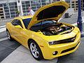 Chevy Camaro Bumblebee from Transformers (5134035939).jpg