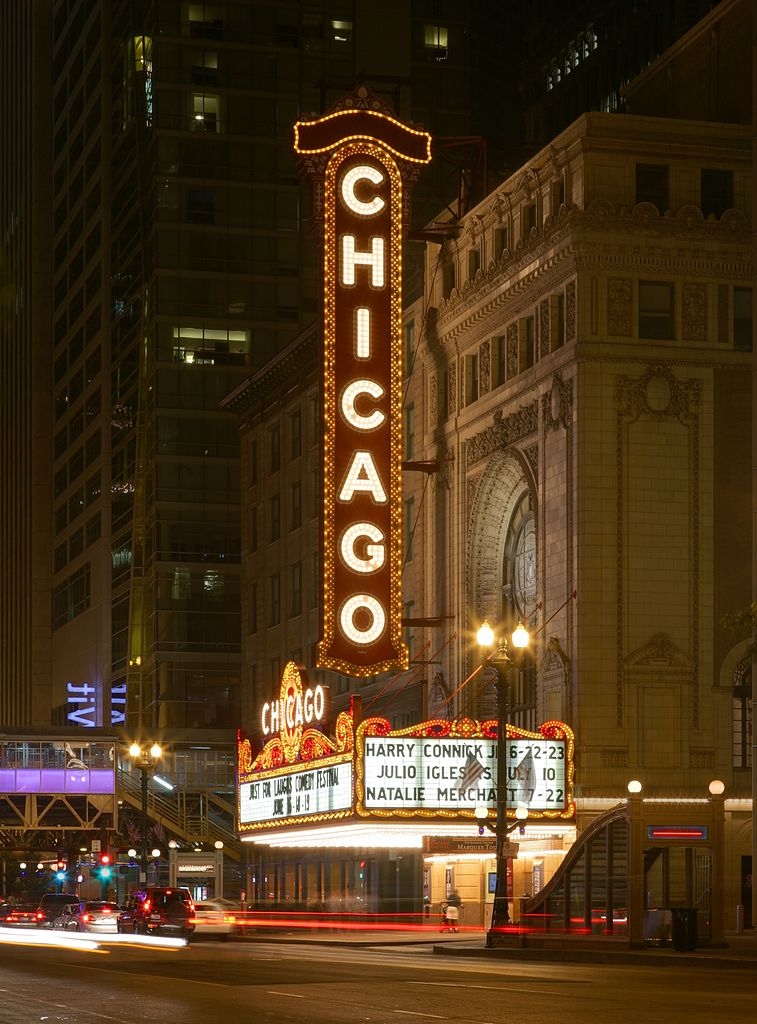 The Chicago Theatre Marquee Tour April