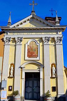 La Chiesa di Santa Croce (o dij Batù) Vinovo