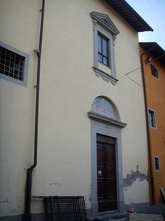 Santa Chiara (Pisa) - Façade.