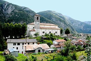 Chiusaforte Comune in Friuli-Venezia Giulia, Italy