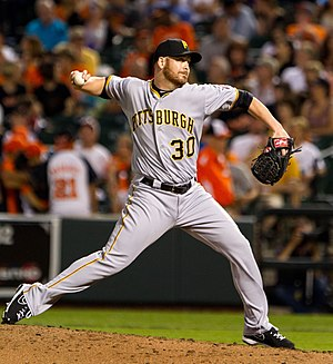 Chris Resop - Resop with the Pittsburgh Pirates