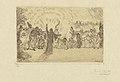 Christ among the Beggards, print by James Ensor, 1895, Prints Department, Royal Library of Belgium, S. II 79735.jpg
