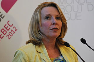 Christine St-Pierre Canadian politician