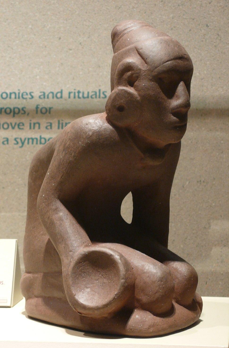 Chunkey player figurine