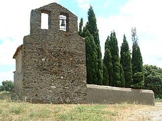 Caixas - The Chapel of Sainte-Marie de Fontcouverte, in the commune of Caixas