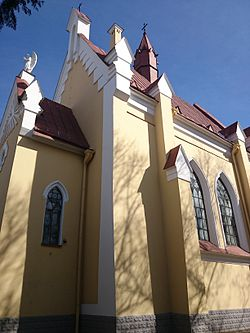 Church of Providence of God in Vilnius.JPG