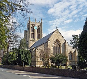 Cottingham, East Riding of Yorkshire - The parish church of St Mary the Virgin, Cottingham (2008)