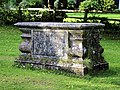 Church of St Andrew, Nuthurst, West Sussex - churchyard tomb chest.jpg