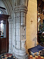 Church of St John, Finchingfield Essex England - Nave north arcade east respond.jpg