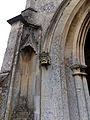 Church of St John, Finchingfield Essex England - porch portal west.jpg