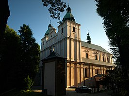 Church of the Assumption in Borek Stary, Poland.jpg