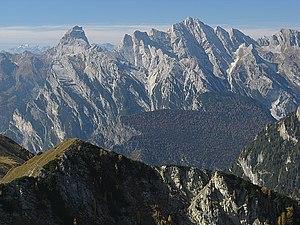 Carnic Prealps - Cima dei Preti, the highest mount of the range