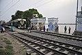 Circular Train Crossing Mayer Ghat - Baghbazar Railway Station - Kolkata 2017-04-29 1935.JPG