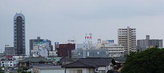 Ichihara, Chiba City in Kantō, Japan