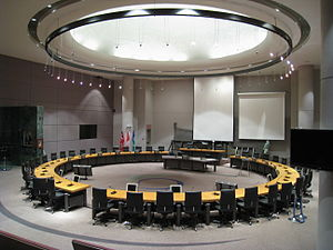 Ottawa City Council - Image: City of Ottawa Council Chamber