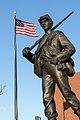 Civil War memorial, East Providence, Rhode Island by T.A.R. Kitson.jpg