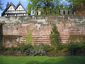 Siege of Chester - Image: Civil war siege damage to the city walls geograph.org.uk 824141