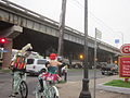 Claiborne Esplanade Bikes Mardi Gras AM.JPG