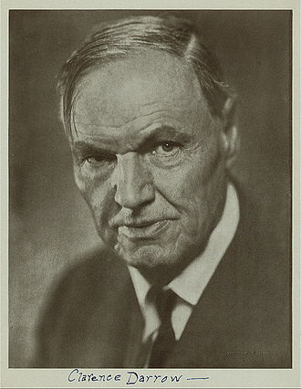 Clarence Darrow - Clarence Darrow circa 1925