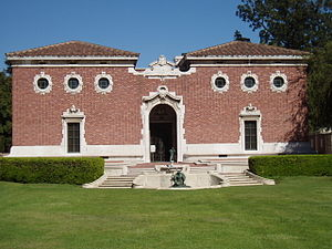 Jefferson Park, Los Angeles - William Andews Clark Memorial Library,  2520 Cimarron Street