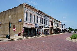 Clarksville, Texas - Broadway Street in Clarksville
