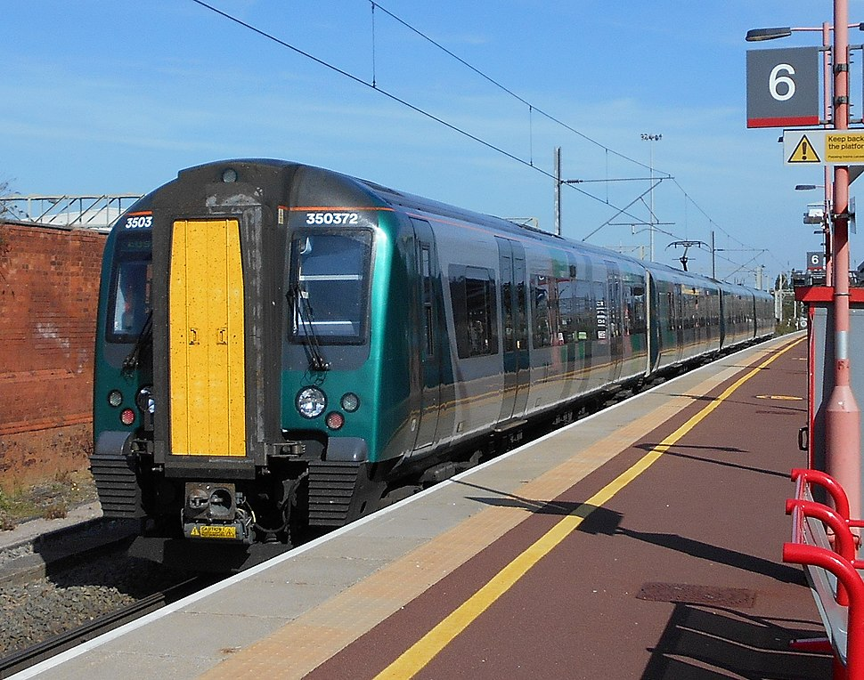 Class 350, LNW, Rugby