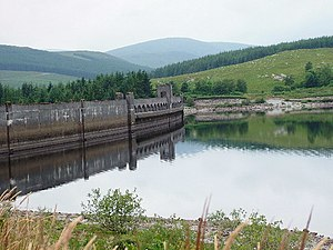 Galloway hydro-electric power scheme - Clatteringshaws Dam