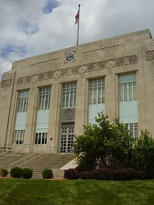 Clay County, Missouri - Image: Clay Co Mo Court House