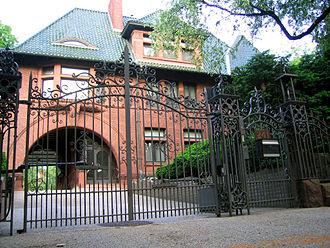 Clinton Hill, Brooklyn - Charles Millard Pratt House, 241 Clinton Avenue