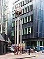 Clock tower, Chiswell Street - Finsbury Street, EC2 - geograph.org.uk - 1122229.jpg