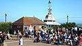 Clock tower at Broadstairs Kent England.jpg