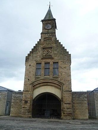 Carron Company - Clocktower entrance to the Carron Works