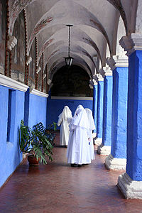 Cloister Monastery Santa Catalina Arequipa Peru.jpg