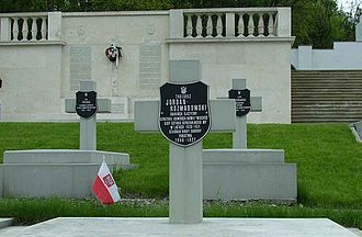Tadeusz Jordan-Rozwadowski - Gen. Rozwadowski's tomb in Lychakivskiy Cemetery, Lviv.
