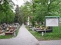 Cmentarz w Mydlnikach, Kraków, Mydlniki, Balicka.JPG