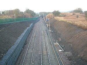 Glasgow and South Western Railway - Image: Coal sidings, Kilmarnock, towards Crosshouse