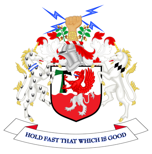 Coat of arms of Trafford Metropolitan Borough Council