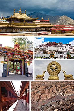 Collage of views of Lhasa, Tibet.jpg