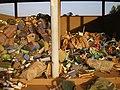 Collected plastic material as raw material - Matière plastique collecté comme matière première (3267341894).jpg