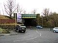 Colne, Railway bridge over Primet Hill - geograph.org.uk - 1701583.jpg