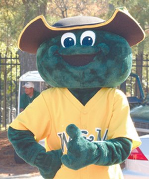 Colonel Ebirt - Colonel Ebirt giving a 'thumbs up' prior to a Tribe football game.