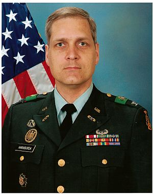 Scott Haraburda - 464th Chem. Bde command photo, April 2006