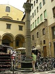 Column of Santa Felicita, Florence