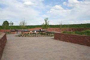 Columbine High School massacre - The Columbine memorial