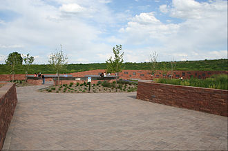 Columbine High School massacre - The Columbine memorial