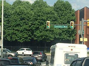 Columbus Boulevard (Philadelphia) - Image: Columbus Boulevard