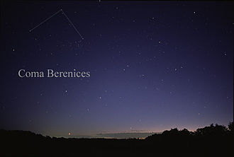 Coma Berenices - Coma Berenices as seen by the naked eye